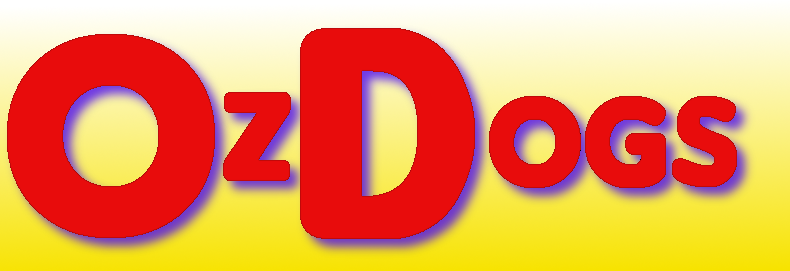 OzDogs Arizona Hot Dog Vendor Logo.